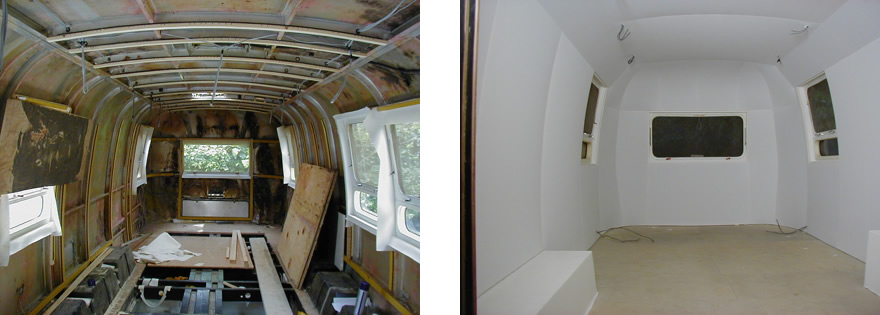 Pete Townshend's Airstream trailer, Richmond  Surrey